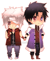 PCOMM: Tristan and Hashi by iza-chan