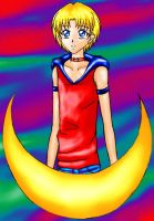 Sailor Male Moon by sydchan