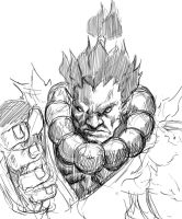 Street_Fighter_AKUMA by PotemkinBuster
