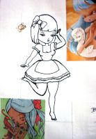 little lady inspiration page by sianani