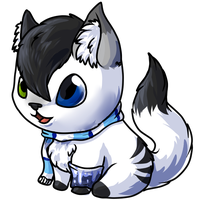 Comission: Chibi Meo by MegasArtsAndCrafts