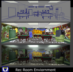 Rec Room Enviornment by BlueSerenity