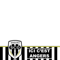 Calque Avatar Facebook - Angers SCO by C3D49