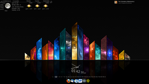 Rainmeter by omgdinosaurz