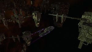 USS Verdant Sentinel Survived the Borg Queen by tintallin
