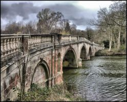 Bridge at Clumber Park by Melodysk