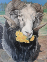 Bengt the Ram - Painting FINISHED by LimboTheLost