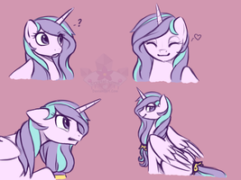 Fair Shine's many faces by Crystal-Comb