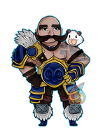 Braum Pagedoll commission by CorruptedWaffles