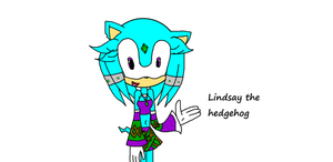 Lindsay the hedgehog by SnowyAquarius