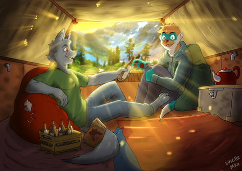 Relax on nature by Luichemaxx