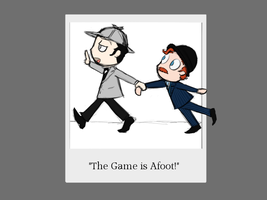 The Game is Afoot Wallpaper by MyDearWatson
