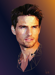 Tom Cruise by LisaAnufrieva
