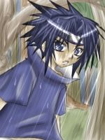 Sasuke OC rain pic XD whatever by hellsingfan
