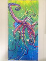 The Universal Octopus by theuniversalartist