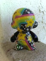 star and mushroom munny FINAL by gracie547