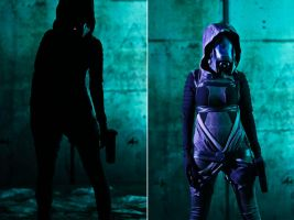 Tali Zorah Vas Normandy by AmandaAagard
