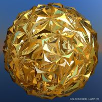 COMPLEX GOLD SPHERE by GeaAusten