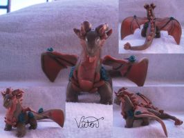 Dragon of Earth terrador by VictorCustomizer