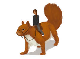 Giant Squirrels? :D by TheChotta