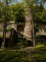 Old Castle by Dragoroth-stock