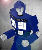 TARDIS Transformer by Llyzabeth