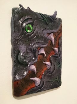 Demon Skin Wall Hanging by MarcMacabre