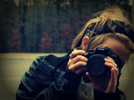 Cali with a Camera by CrystalEquinox