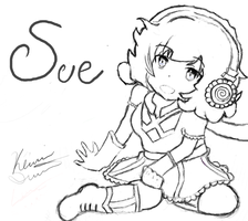 Sue not colored (contest) by siinclaiir