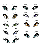 Eyes Pack 2 by WinxFandomBases