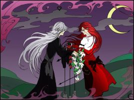 Undertaker + Grell 3 by canaury