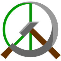Communist Peace Symbol by Domain-of-the-Public