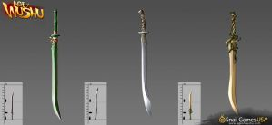 Sword Weapon Concept Art by Age-of-Wushu