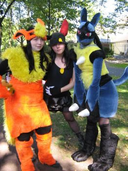 Pokegroup on Connichi '08 by Kazelyn