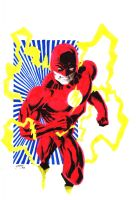 The Flash Wally west by Shadowrenderer