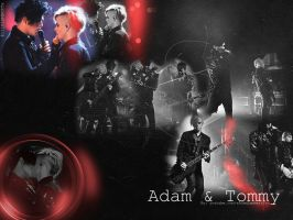 Adam and Tommy BACKGROUND :D by Ashley-Deviantart