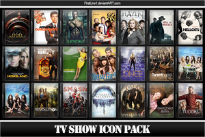 TV Show Icon Pack 15 by FirstLine1
