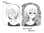 multiple personality by LaMiAsan