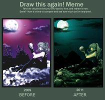draw this again meme by Jadevogel