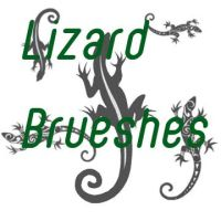 lizard brushes by Corrinthia