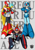 IRREGULAR HUNTERS/MARVERICK  HUNTERS by thee-namichelle-gun