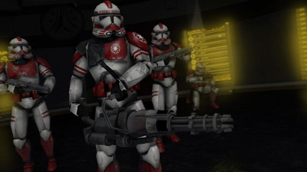 Shock Troopers [SFM] by Sonoafafayon