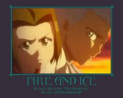 Fire and Ice Cover by JeweloftheDesert