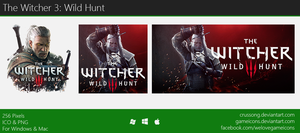 The Witcher 3: Wild Hunt - Icon 2 by Crussong