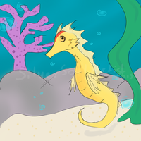 Sea Horse by SilverSoulArtist