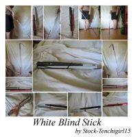 white blind stick package by Stock-Tenchigirl15
