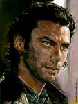 Aidan Turner as John Mitchell by VisionSisters