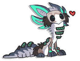 Chibi design by griffsnuff