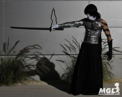 Ichigo final getsuga tenshou Cosplay at MGL 2011 by vega147