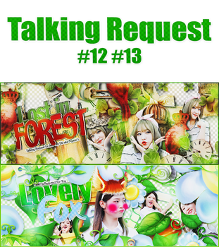 ::[ Share PSD ]:: Talking Request PART 2: #12 #13 by BYjin-D